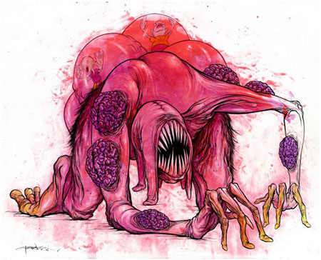 The artwork of Alex Pardee
