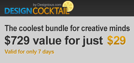Design Cocktail 5 – The Coolest Bundle For Creative Minds
