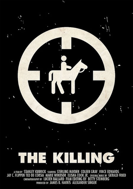Stanley Kubrick pictogram movie posters