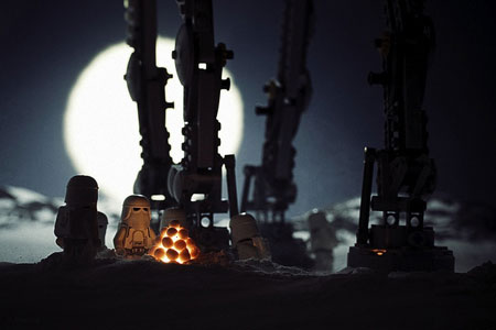 Awesome Lego Star Wars photography