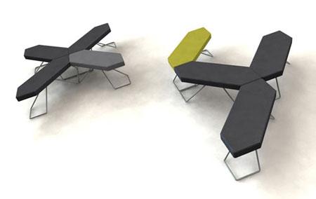Pixel seating