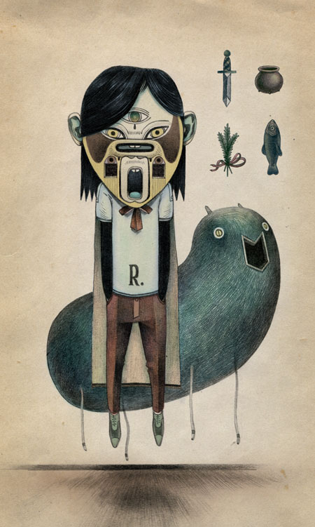 Illustrations by Raymond Lemstra