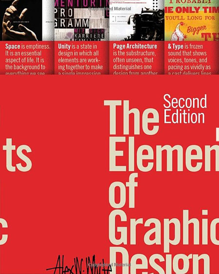 The Elements of Graphic Design, second edition