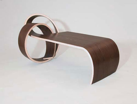 Why Knot Table by Kino Guérin