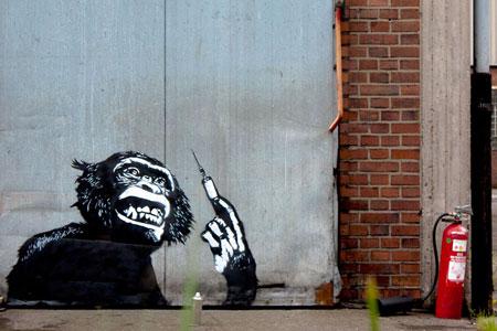 Street art by Sr. X