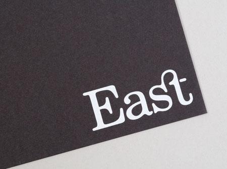 East branding