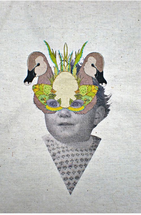 Embroidery Art Work by Laura McKellar