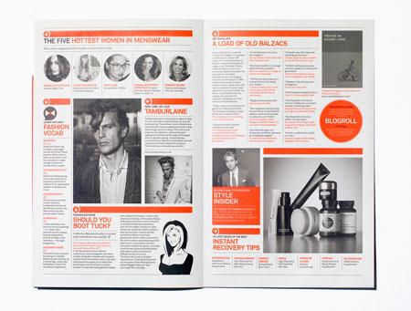 10 examples of great magazine design for Magazine design ideas