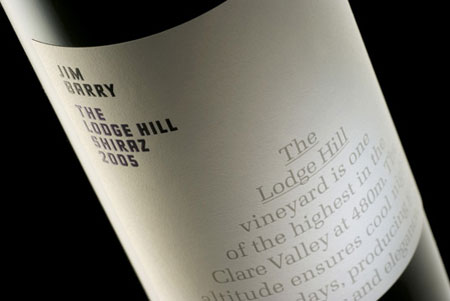 Lodge Hill wine label