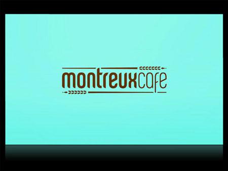 Identity system for Montreux Café