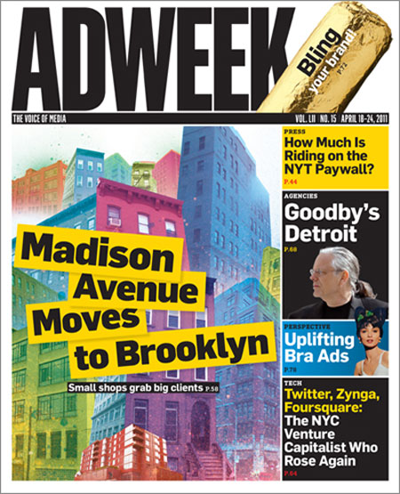 Adweek redesign by Pentagram