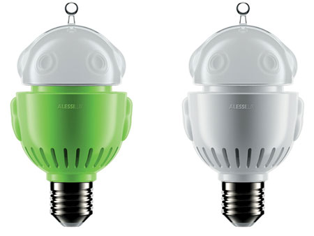 Alessi's Light Bulbs Re-imagined