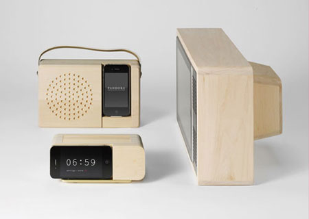 Alarm Dock and Analog Radio by Jonas Damon