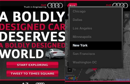 Audi Mobile Site