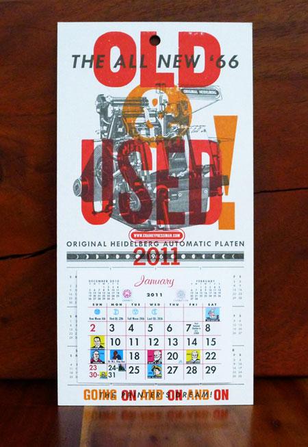 Cranky Pressman 2011 Calendar