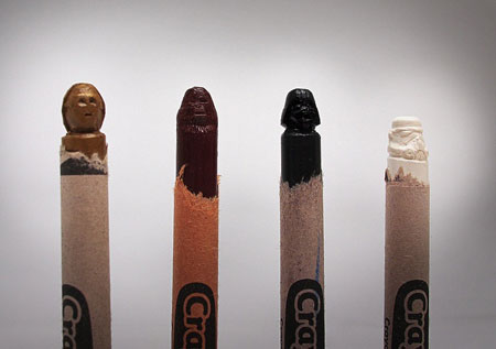 Crayola force sculptures