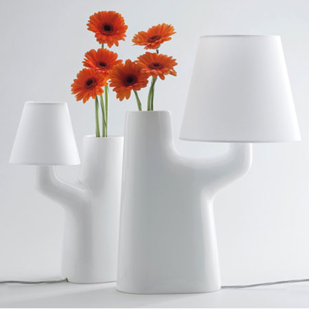 Touch Lamp Vase by Roger Arquer for Bosa