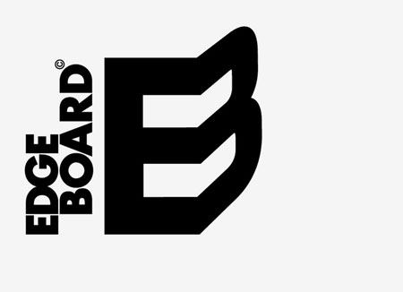 Edge Board branding by Hampus Jageland