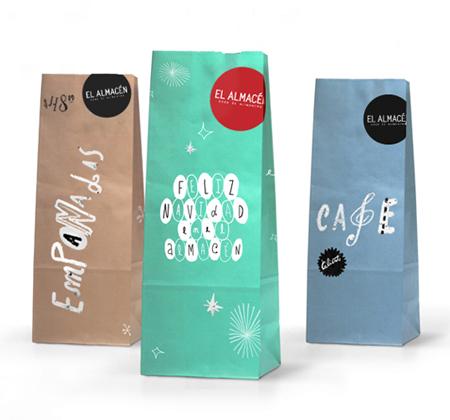 El Almacen packaging