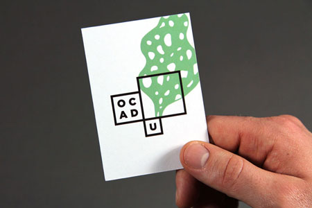 New OCAD identity by Bruce Mau design