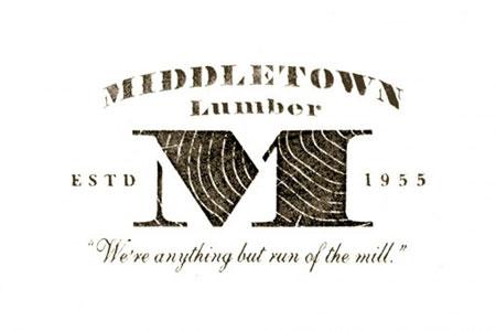 Middletown Lumber branding