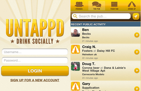 Untappd Mobile Site