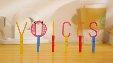 """VOICES"" by teevee graphics"