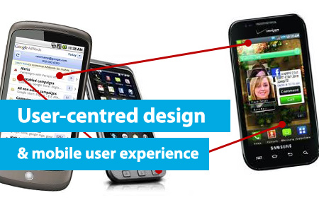 User-centred design and mobile user experience