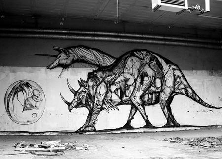 Street art by Iemza