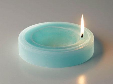 Hybrid candle hashtray