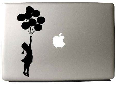 Banksy MacBook Decals