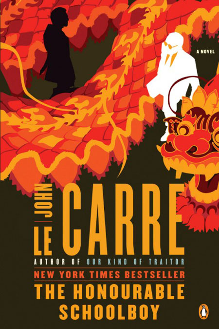John Le Carré book covers by Matt Taylor