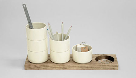 Shuffle Desk Tidy by RALLI Design