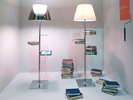 Bibliotheque Nationale and net lamp