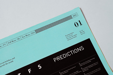 Calendar design by Tim Wan