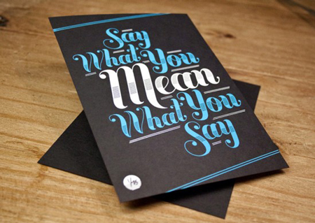 Design cards by Ross Moody