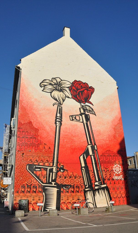 Shepard Fairey's street art