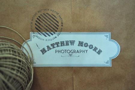 Matthew Moore identity by Emma Robertson