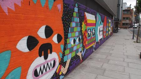Street art by Malark