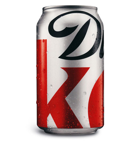 Diet Coke redesign