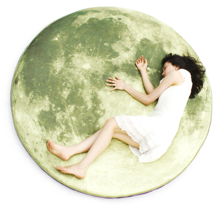 Full moon odyssey floor pillow by i3lab