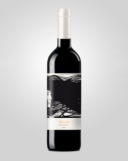 Aloja wine packaging