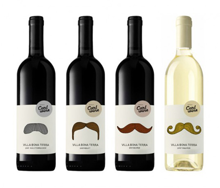 Carl wine labels