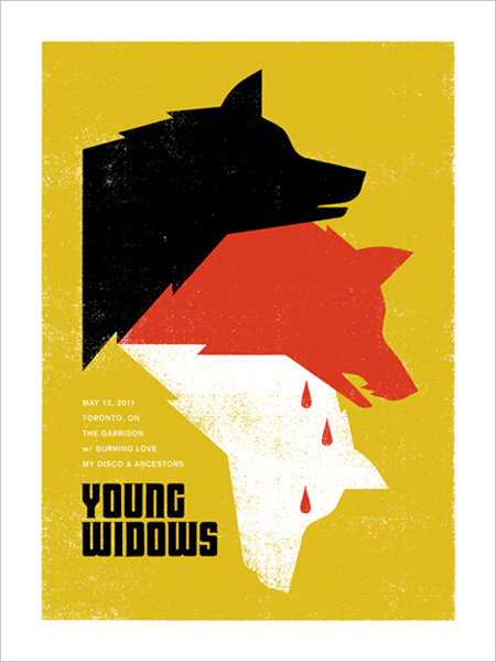 Young widows poster