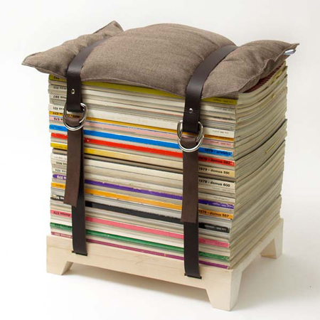 The Magazine Stool