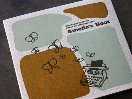 Amelia's Boot CD packaging