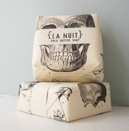 Le Nuit Shea Butter Soap packaging
