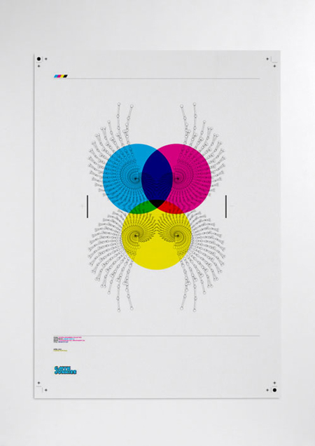 CMYK Junkies poster collection