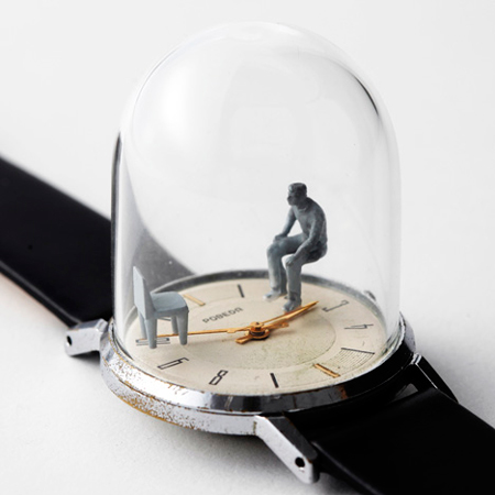 Watch Sculptures: Moments in Time by Dominic Wilcox