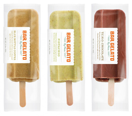 Bar Gelato packaging